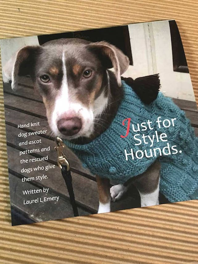 Dog Knitting Pattern Book Just for Style Hounds | Etsy