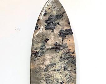 Skateboard Deck XXXVII - Automotive Paint & Clear, Resin, Bamboo Deck