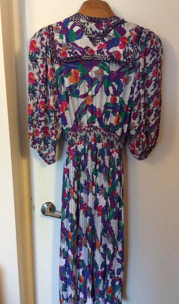 Stunning 1980's Diane Freis dress