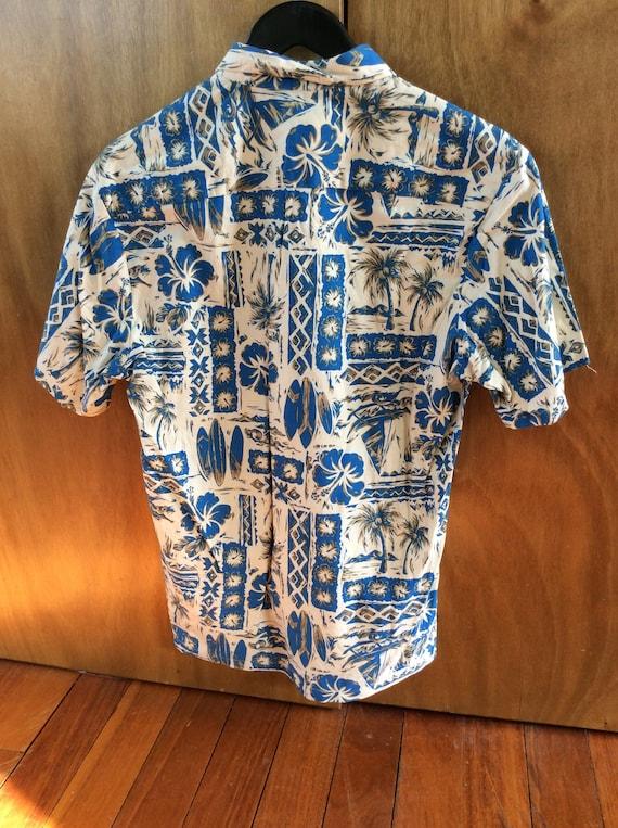 Original 1970's cotton Hawaiian shirt.