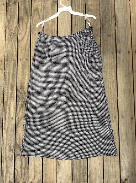 Vintage Laura Ashley high waisted skirt circa 1970