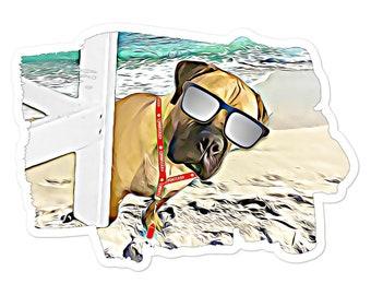 Life's a Beach Bubble-free stickers