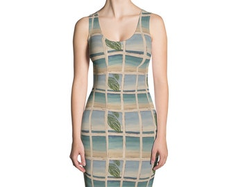 Out My Window Sublimation Cut & Sew Dress