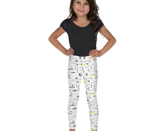 8 Bit Memories Kid's Leggings