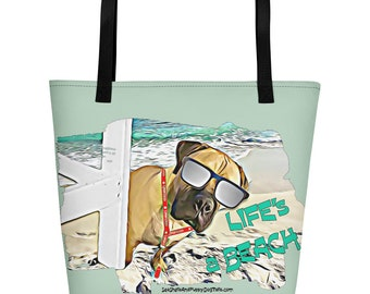 Life's a Beach Beach Bag