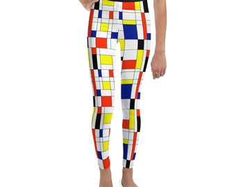Mondrian Multi Youth Leggings