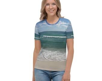 Beach Full Print Women's T-shirt