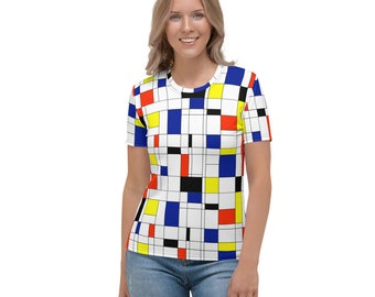 Mondrian Multi Women's T-shirt