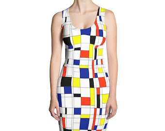 Mondrian Multi Dress