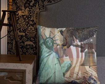 American Icons Basic Pillow
