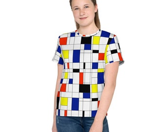 Mondrian Multi Youth T-Shirt