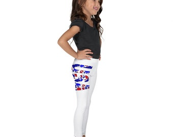 USA Camo Kid's Leggings