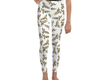 Southwest Striped Eagles Youth Leggings
