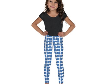 Blue Bowties Kid's Leggings