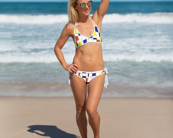 Mondrian Multi Bikini
