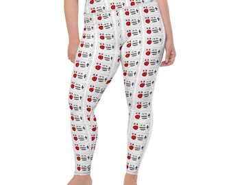 Controllers All-Over Print Plus Size Leggings