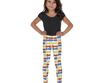 Multicolored Bowties Kid's Leggings