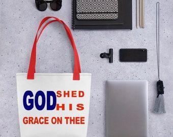 God Shed Tote bag