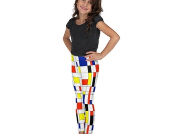 Mondrian Multi Kid's Leggings