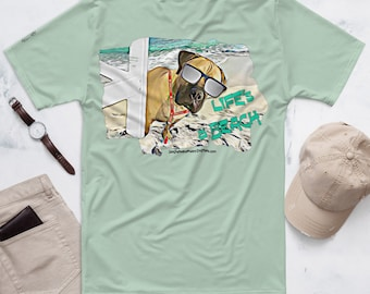 Life's a Beach Men's T-shirt