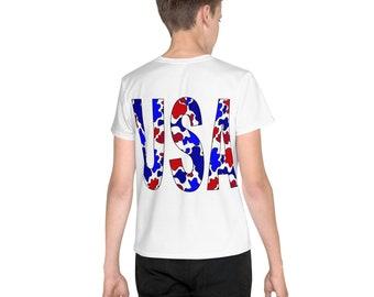 USA Camo Youth T-Shirt