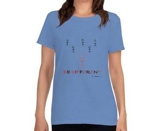 Be Different Women's short sleeve t-shirt