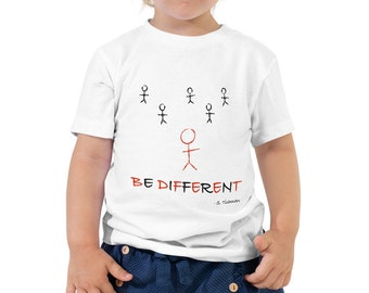Be Different Toddler Short Sleeve Tee