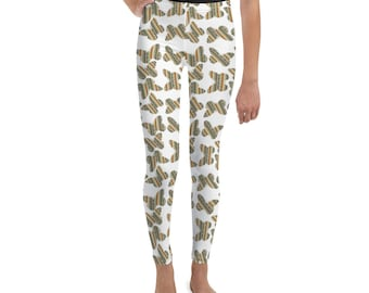Southwest Striped Butterflies Youth Leggings
