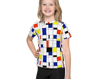 Mondrian Multi Kids T-Shirt