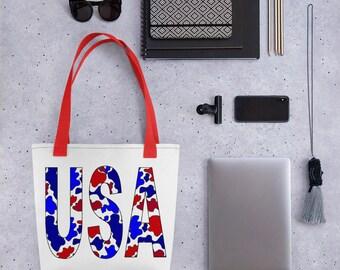 USA Camo Tote bag