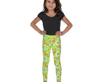 Mod Circles and Squares Kid's Leggings