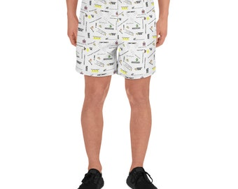8 Bit Memories Men's Athletic Long Shorts
