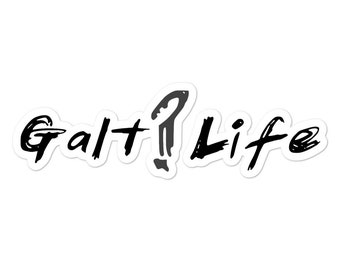 Galt Life Bubble-free stickers