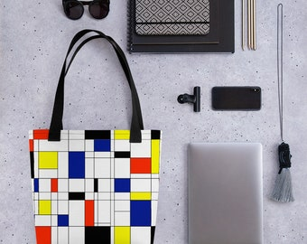 Mondrian Multi Tote bag
