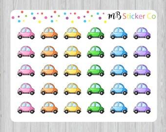 Car Stickers, Planner Stickers, Erin Condren Life Planner, Happy Planner, Filofax