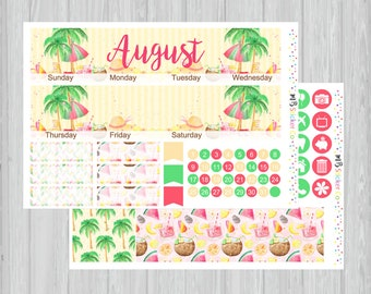 August Monthly Kit, Summer Vibes Monthly Kit, EC Vertical