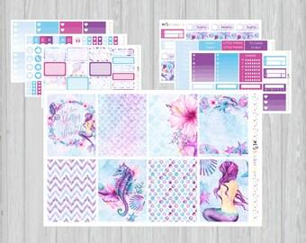 Mermaid Weekly kit, Deluxe Weekly Kit, ECLP Vertical