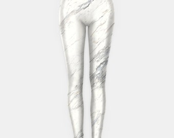 White Marble Leggings Grunge Clothing funny fun tumblr hipster swag grunge goth punk new retro vtg