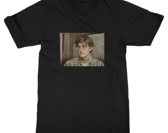 Louis THEROUX I Wasn't Sure What I Saw But I Knew it Was Time to Leave T-Shirt Grunge funny british hipster swag grunge punk new retro tv