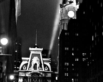 Philly Noir, Urban Photography, Philadelphia Photography, Street Photography, Classic Photograph, Cityscape, Architectural Photography