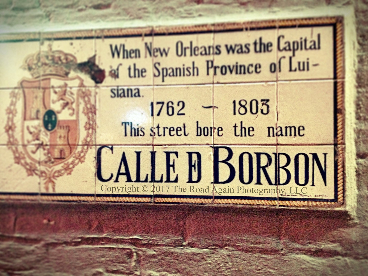 Bourbon Street New Orleans Photography Wall Art Vintage | Etsy