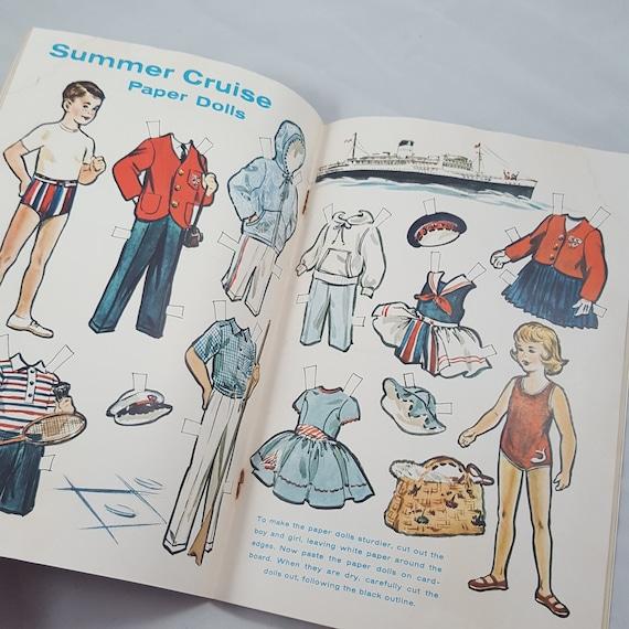 Vintage Kids Magazines Lot of 3, Jack & Jill The Golden Magazine, Storybook  Illustrations, Mixed Media Paper Craft, Children's Art Ephemera