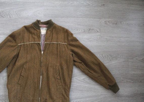 Vintage 1950s Mens Blouson Jacket // Cockatoo Bran