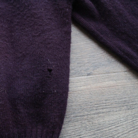 Vintage 1950s 60s Wool Letterman Varsity Sweater … - image 8