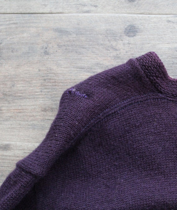 Vintage 1950s 60s Wool Letterman Varsity Sweater … - image 7