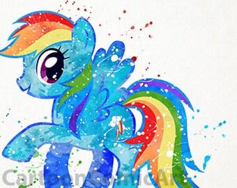 My Little Pony Print Etsy