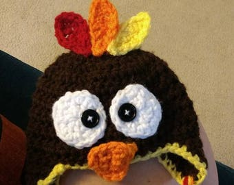 Turkey Hat Photo Prop MADE TO ORDER