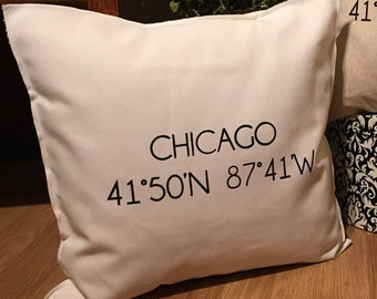 CHICAGO Coordinate Pillow Case