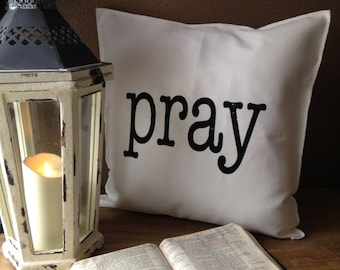 PRAY Pillow Case