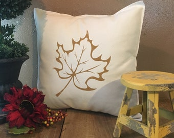 Fall Leaf Pillow Case